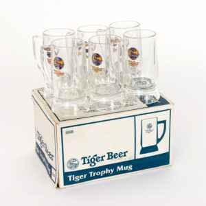 Tiger Trophy Mug Glassware (Set of 6)