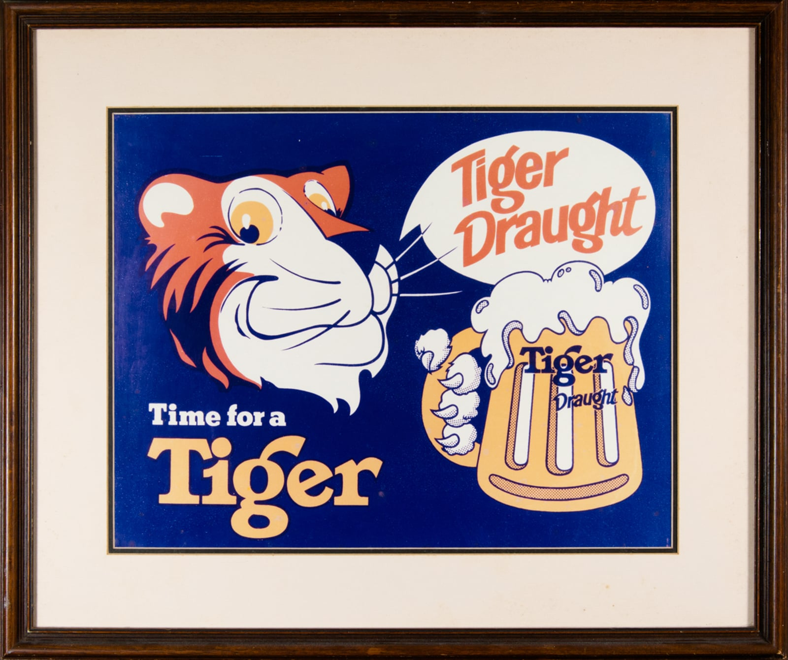 Time for A Tiger Advertisement