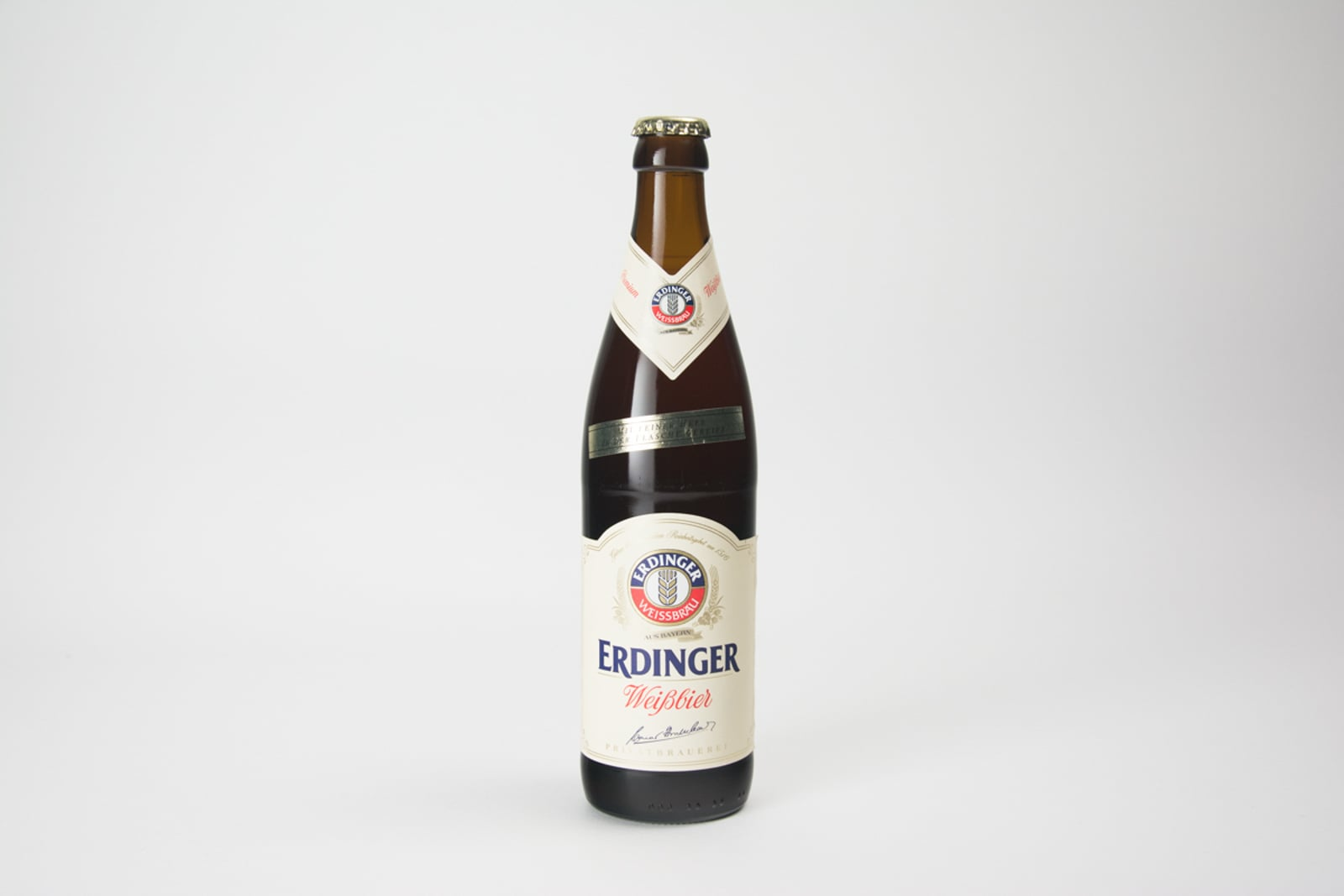 Erdinger Weißbier Beer Bottle, 50 cl