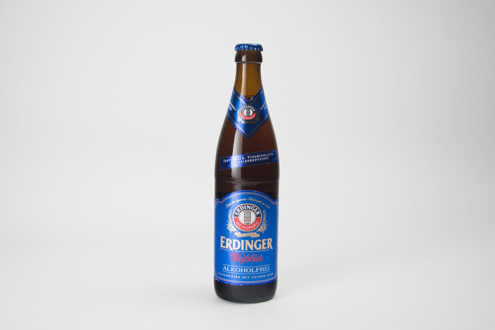 Erdinger Weißbier ALKOHOLFREI Beer Bottle, 50 cl